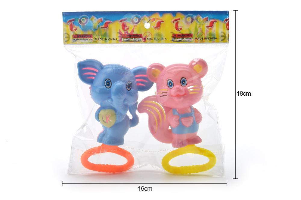 Baby early education puzzle rattle toy cartoon bell No.TA261590