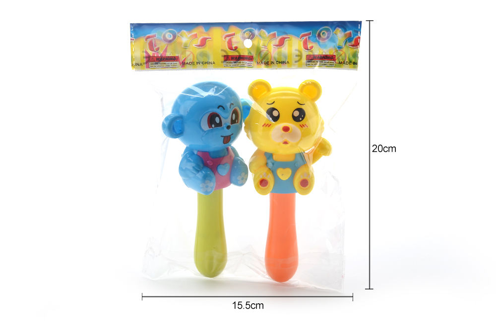 Baby early education puzzle rattle toy cartoon bear tiger monkey No.TA261592