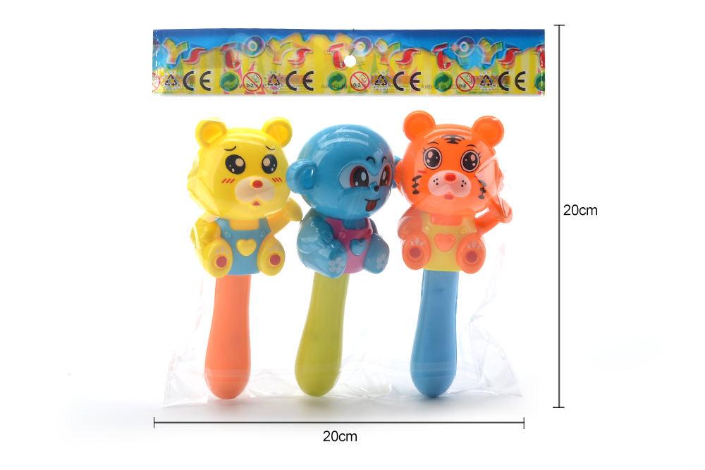 Baby early education puzzle rattle toy cartoon bear tiger monkey No.TA261593