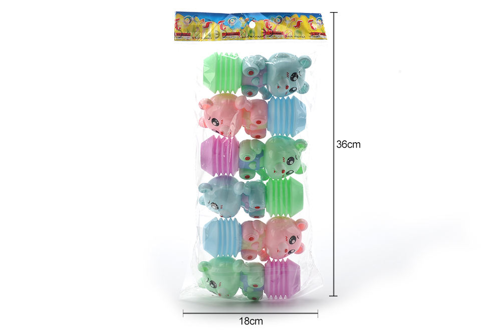 Baby early education puzzle rattle toy cartoon airbag BB rattle (bear) No.TA261597