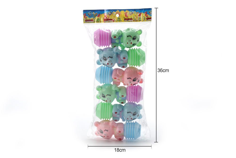 Baby early education puzzle rattle toy cartoon airbag BB rattle (tiger) No.TA261598