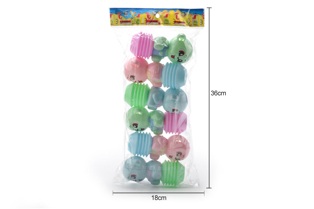 Baby early education puzzle rattle toy cartoon airbag BB rattle (monkey) No.TA261601