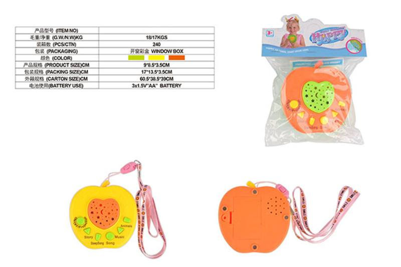 Puzzle early education learning toy Apple projection story machine (with magneti No.TA255564