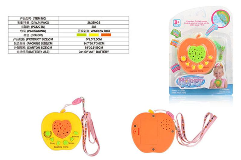 Puzzle early education learning toy Apple projection story machine (with magneti No.TA255566