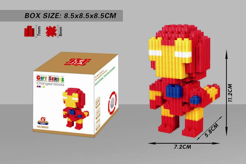 Educational Toys Microparticle Building Blocks - Iron Man NO.TA262617