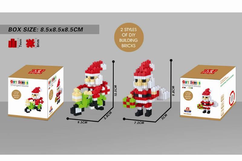 Puzzle blocks, micro-particle blocks - Santa Claus NO.TA262675