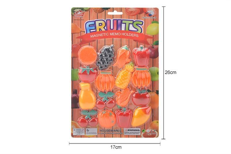 Fruit sticker refrigerator magnet NO.TA263050