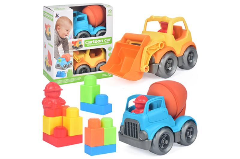 9PCS puzzle building block car NO.TA263232