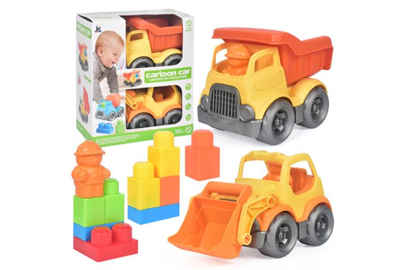 9PCS puzzle building block car NO.TA263233