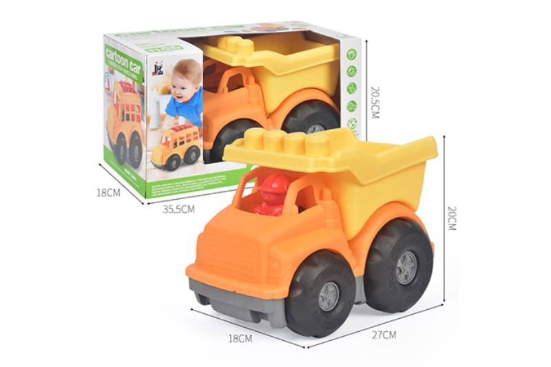 11PCS puzzle building block car NO.TA263235