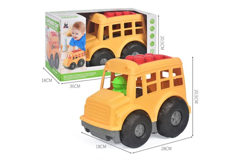 11PCS puzzle building block car NO.TA263237