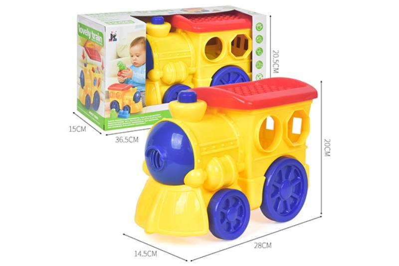 12PCS puzzle building block car NO.TA263241