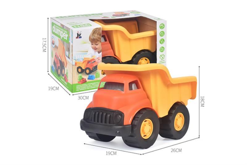 11PCS puzzle building block truck dump truck NO.TA263245