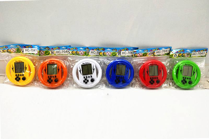 Educational game toy steering wheel game machine with 2*AG13 battery No.TA255723