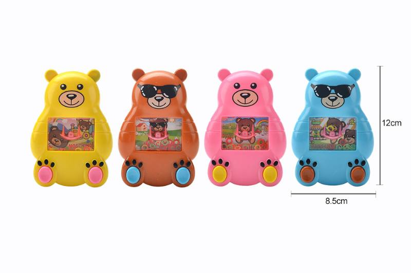 Cartoon bear water game machine toy fun toy No.TA259988