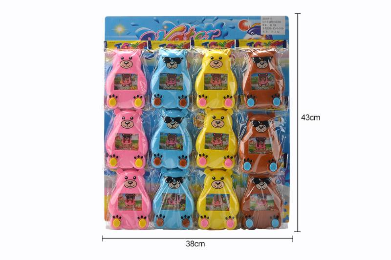 12 cartoon water game machines toys fun toys No.TA259989