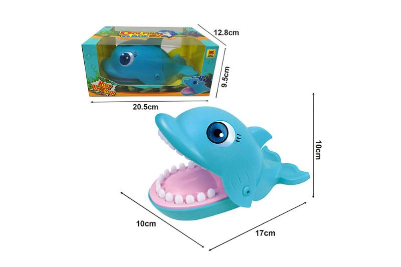 Biting finger toy puzzle game toy biting finger dolphin NO.TA262694
