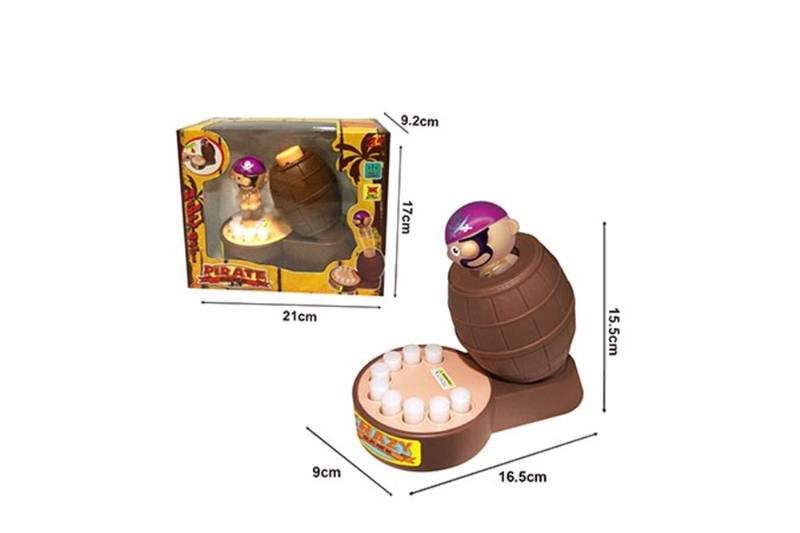 Biting finger toy puzzle game toy pirate bucket game NO.TA262695
