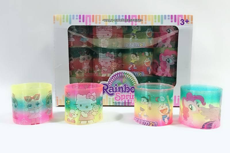 rainbow circle Puzzle rainbow circle Flash printing cartoon rainbow circle No.TA258568