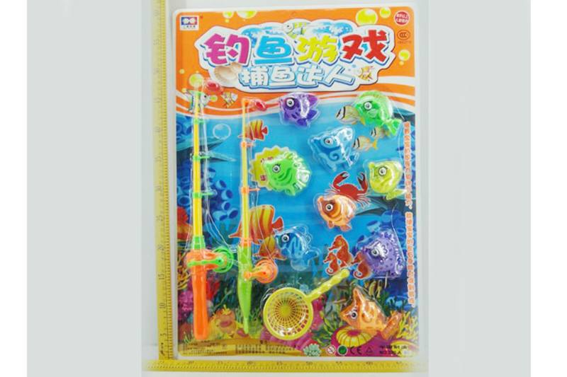 Educational play water beach toys fishing game toys No.TA254833