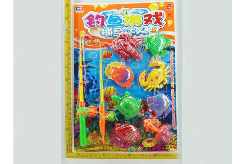 Educational play water beach toys fishing game toys No.TA254834