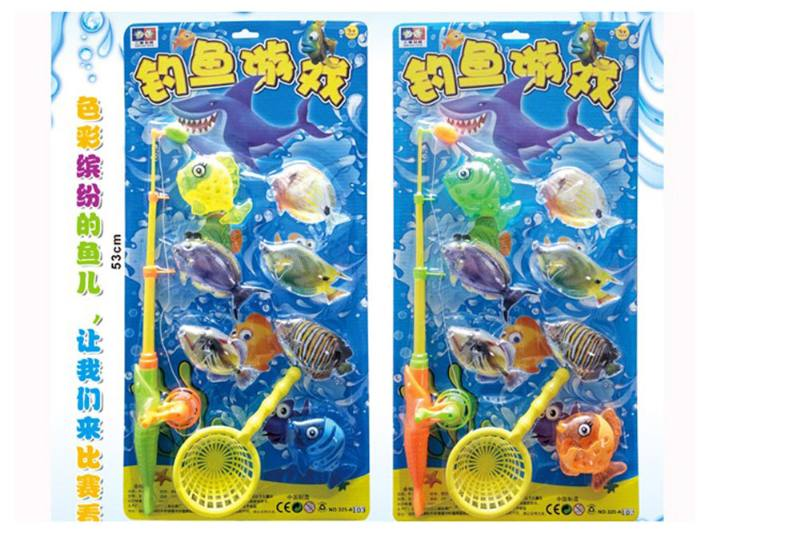 Educational play water beach toys fishing game toys No.TA254835