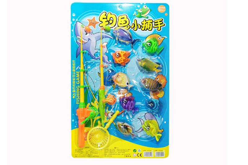 Educational play water beach toys fishing game toys No.TA254836