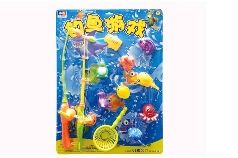 Educational play water beach toys fishing game toys No.TA254841