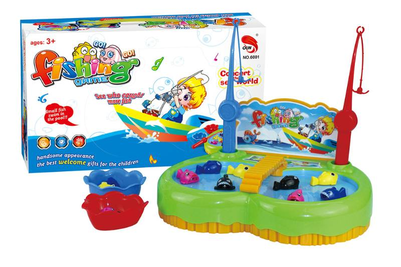 Electric toy parent-child fishing game NO.TA262698
