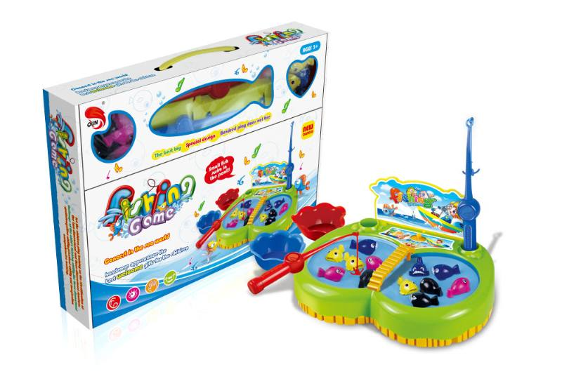 Electric toy parent-child fishing game NO.TA262700