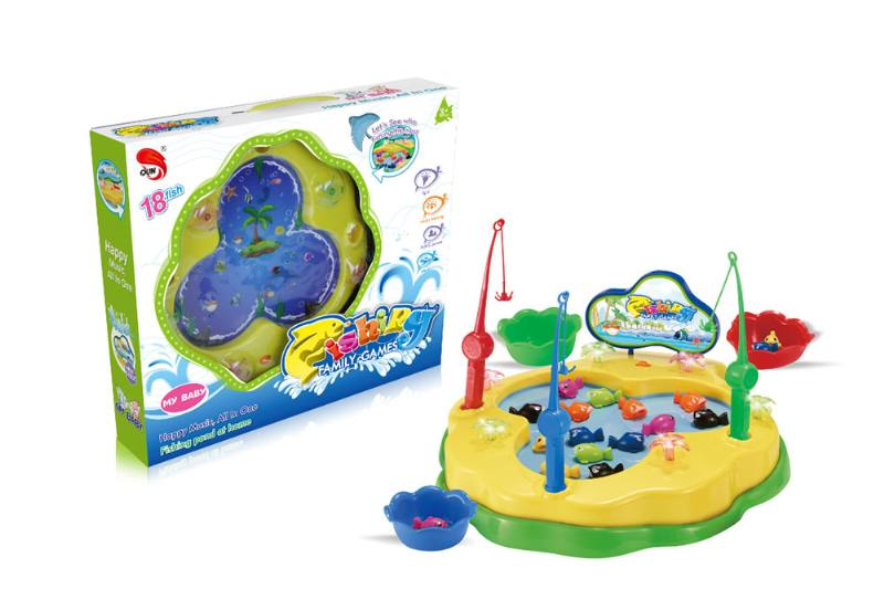 Electric toy parent-child fishing game NO.TA262703