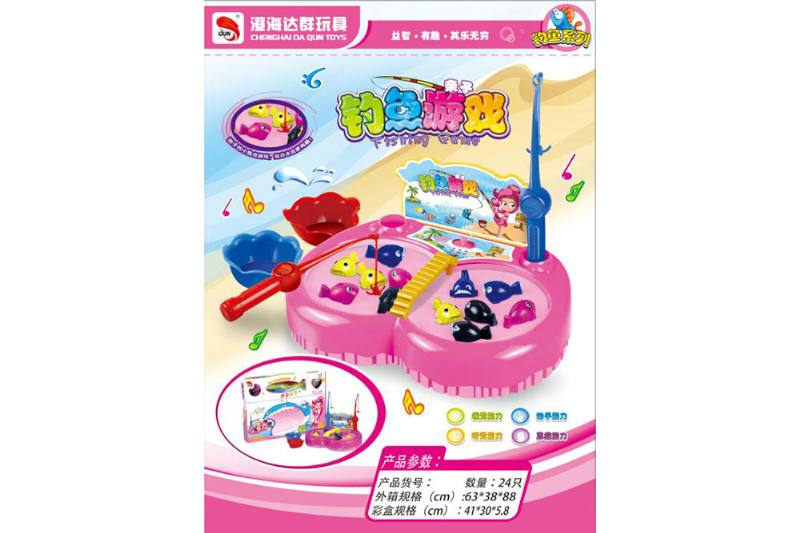Electric toy parent-child fishing game NO.TA262748