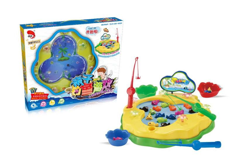 Electric toy parent-child fishing game NO.TA262750