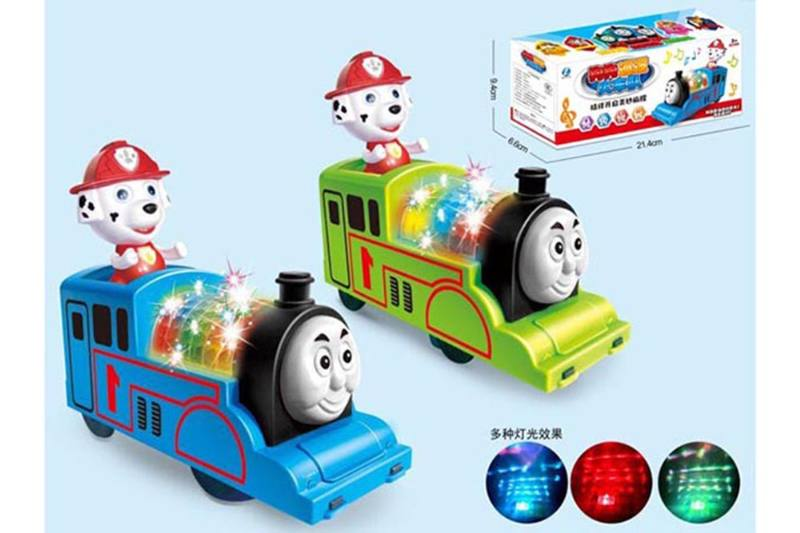 Cartoon electric toy electric universal dog patrol train team No.TA255110
