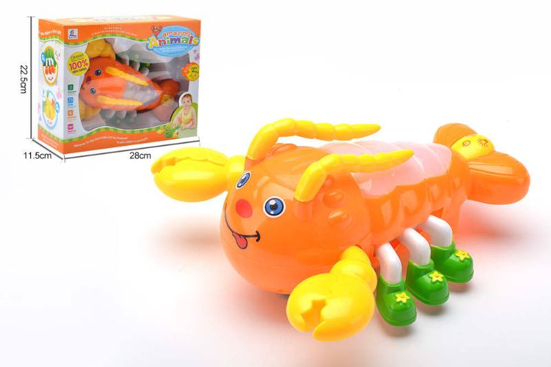Cartoon electric toy 3D lobster NO.TA261886