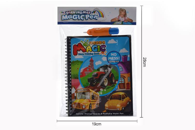 Educational learning fun toy magic traffic doodle book No.TA255273