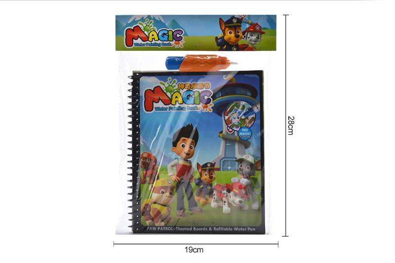 Puzzle learning fun toy magical barking team doodle book No.TA255774