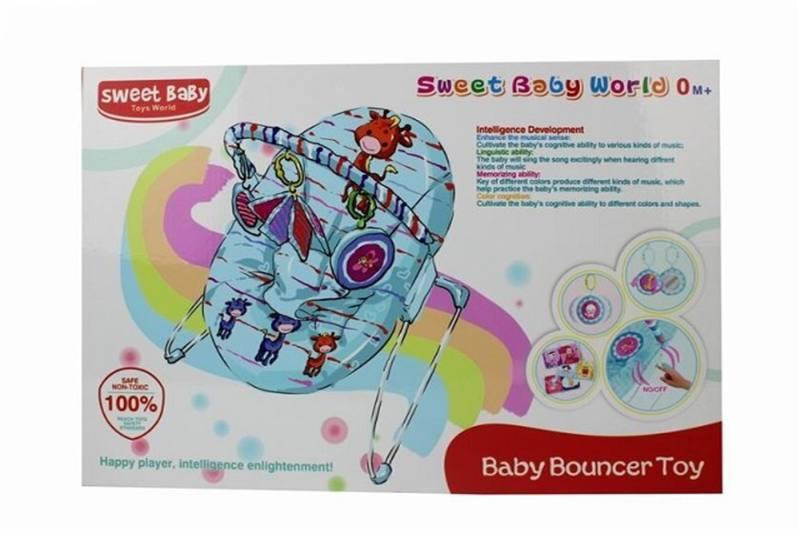 Baby rocking chair (iron) rocking chair vibration + IC (monochrome) No.TA259124