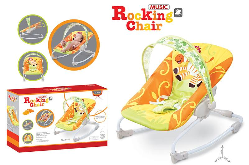 Baby rocking chair with adjustable backrest NO.TA262207