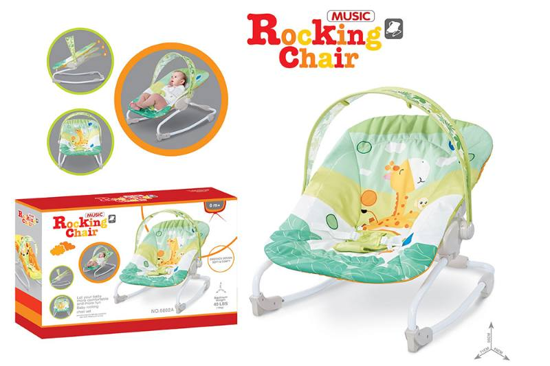 Baby rocking chair with adjustable backrest NO.TA262208