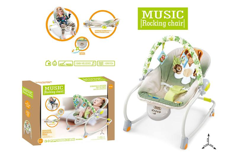 Multifunctional music rocking chair NO.TA262214