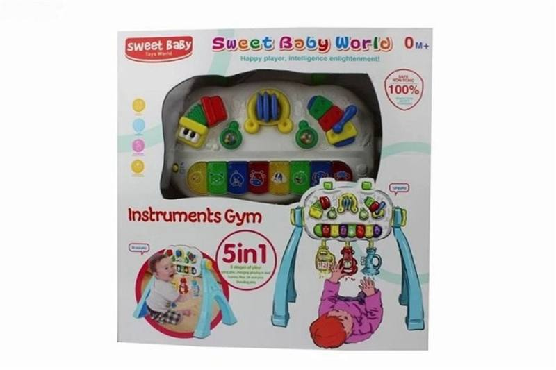 Baby toys New piano key fitness frame (light music, animal sound) No.TA259133