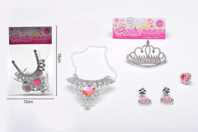 Pretend play toys jewelry sets toys No.TA255541