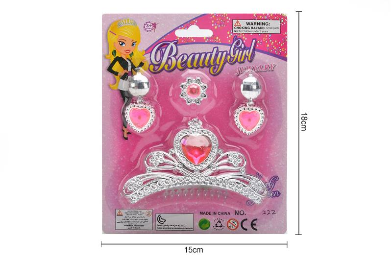 Pretend play toys jewelry sets toys No.TA255546