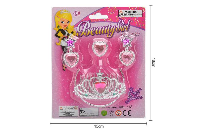 Pretend play toys jewelry sets toys No.TA255550