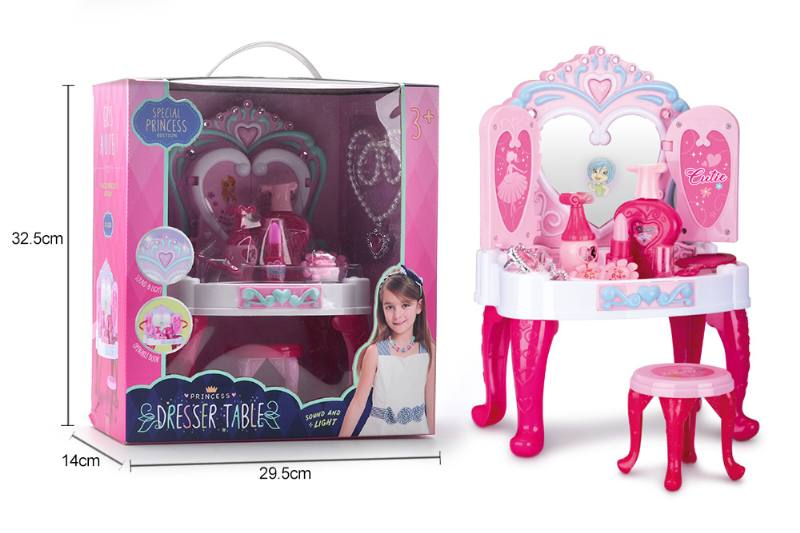 Jewelry, toys, play house dressing table No.TA260569