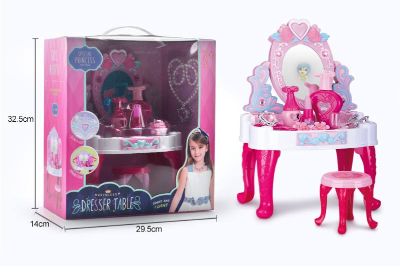 Jewelry, toys, play house dressing table No.TA260570