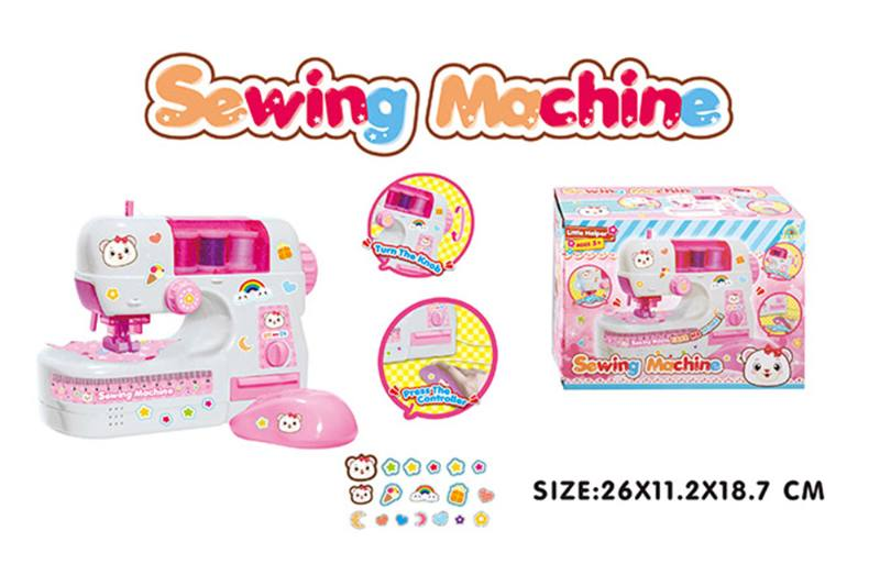 Play house toy electric sewing machine with light No.TA255006