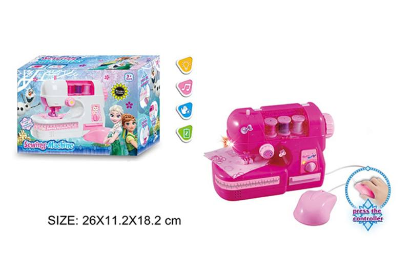 House toy, electric sewing machine with light music No.TA255007