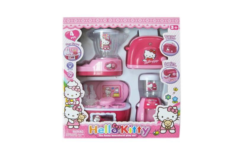 Kitchen play set toys electric appliance bread machine + soybean milk machine +  No.TA258350